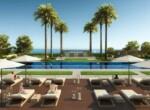 3 Pool sea views