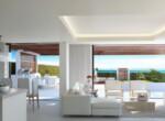7 Villa interior